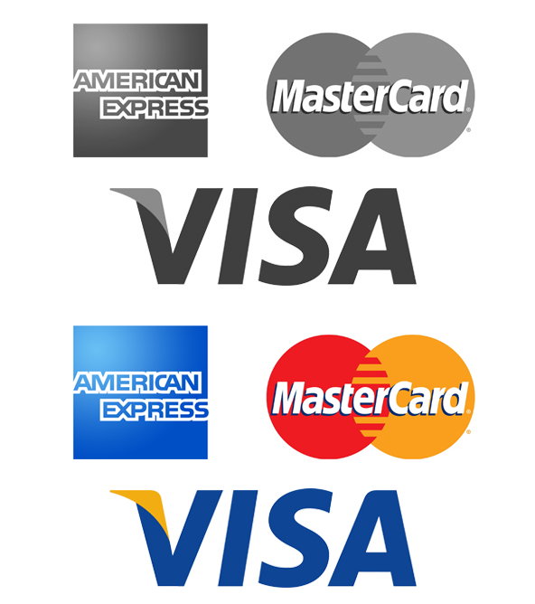 MasterCard, Visa of American Express